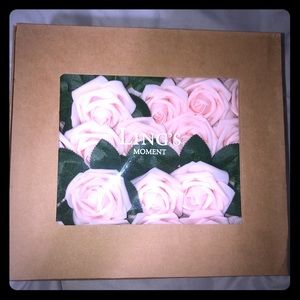 Luxurious beautiful Real Looking Blush Roses 50pcs